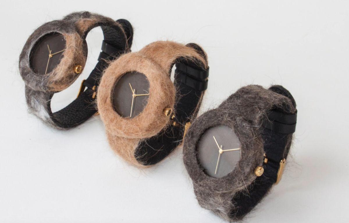 Des montres faites avec des poils de votre animal de compagnie – Screeshot Analog Watch Compagny