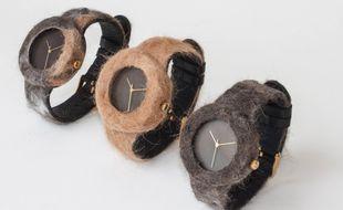 Des montres faites avec des poils de votre animal de compagnie