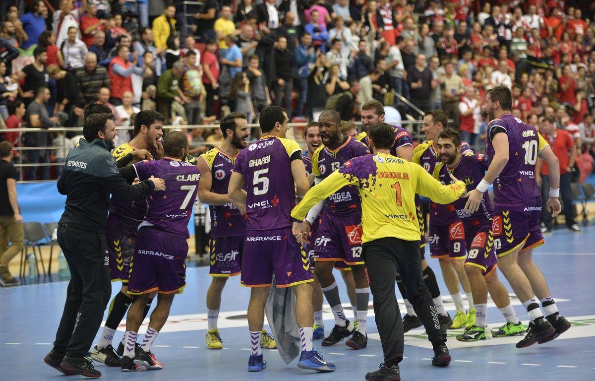 L'équipe actuelle du HBC Nantes. – RAPHAEL SERRES/SIPA