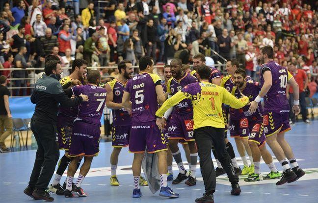 L'équipe actuelle du HBC Nantes.