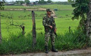 """Les Colombiens l'appellent la """"zone rouge"""". Entre la cordillère orientale des Andes et la jungle amazonienne, le journaliste français Roméo Langlois, disparu depuis le 28 avril, a été pris dans le conflit qui secoue ce fief de la guérilla des Farc dans le sud du pays."""