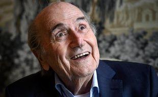 Sepp Blatter, l'ancien président de la Fifa.