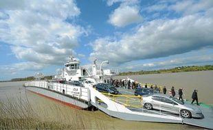 Le nouveau bac de Loire est plus grand et plus rapide que ses prédécesseurs.