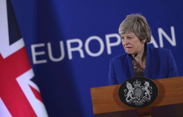 Brexit: Ça sent la fin pour Theresa May, lâchée par une autre ministre 640x410_la-premiere-ministre-britannique-theresa-may-a-bruxelles-le-11-avril-2019