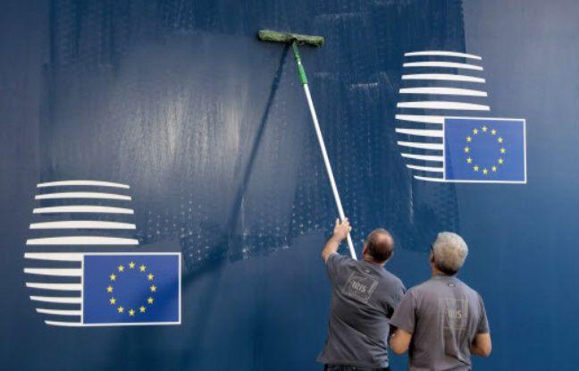 Ravalement de façade à la Commission européenne.