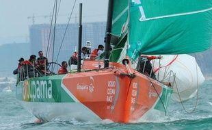 Le voilier français Groupama 4, qui effectuait une course magnifique dans la 5e étape de la Volvo Ocean Race, a à son tour payé mercredi un lourd tribut à la mer, démâtant dans l'Atlantique sud à environ 48 heures de l'arrivée au Brésil.