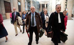 Bordeaux, 24 SEPTEMBRE 2012. L'avocat Daniel Picotin, de la famille de Vedrines. - Photo : Sebastien Ortola