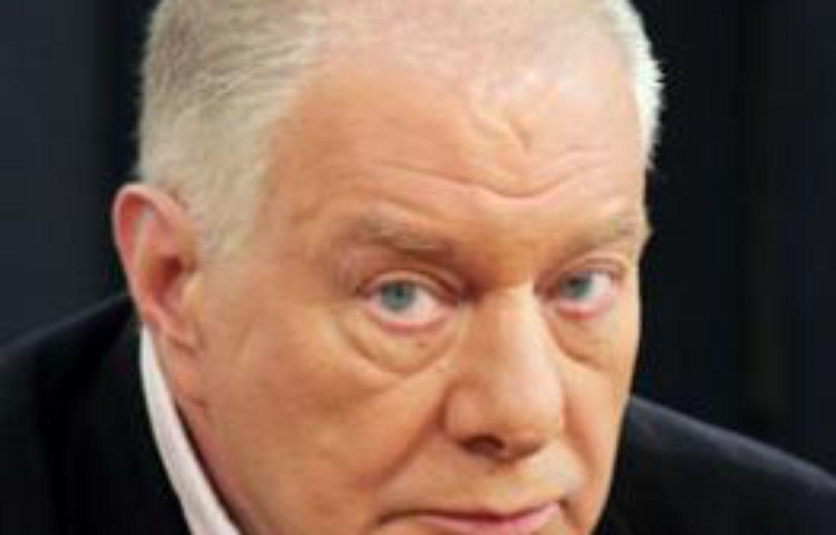Michel Ardouin dit «Porte-Avions», ancienne figure du grand banditisme, à Paris en 2006. – IBO/SIPA