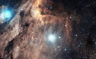 Le nuage du Pelican, dans la constellation du Cygne