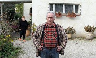 Pierre Le Guennec, et sa femme, le 29 novembre 2010 à Mouans-Sartoux