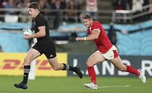 Les All Blacks remportent la médaille de bronze lors de la petite finale de la Coupe du monde de rugby au Japon.