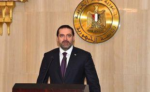 Saad Hariri le 21 novembre 2017.