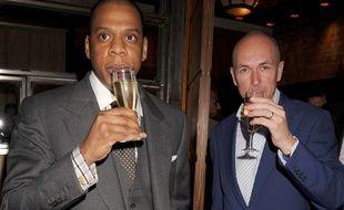 Armand de Brignac et Jay-Z à Londres en juillet 2008 .