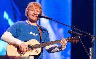 Le musicien Ed Sheeran