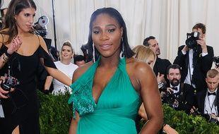 La tennis woman Serena Williams à New York