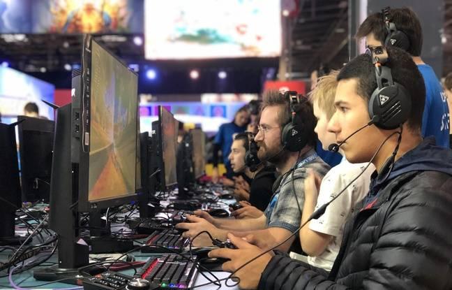 Des joueurs lors de la Paris Games Week, en octobre 2019.