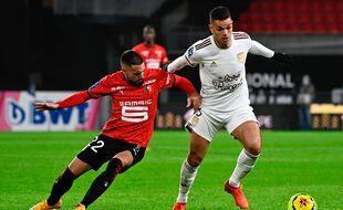 Hatem Ben Arfa contre Rennes