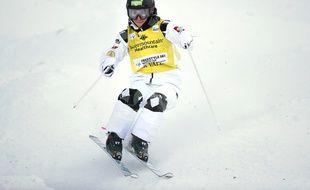 Perrine Laffont, le 4 février 2021 à Deer Valley, dans l'Utah.