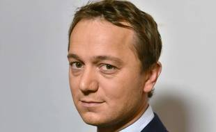 Maël de Calan, candidat à la présidence du parti Les Républicains, le 10 octobre 2017 à Paris