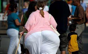 Illustration obésité.