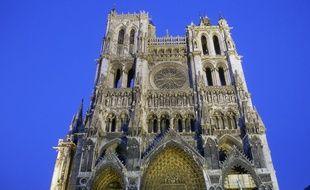 La cathédrale d'Amiens.