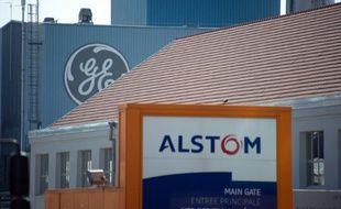 L'entreprise Alstom le 23 juin 2014 à Belfort