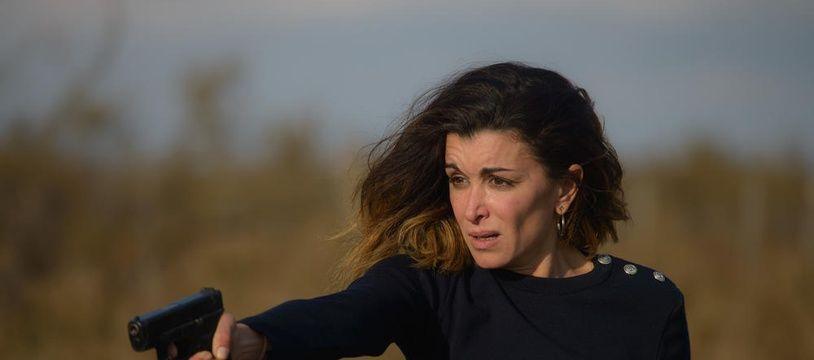 Jenifer Bartoli dans «Traqués» diffusé le 14 mai 2018 sur TF1.