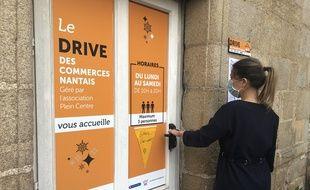 Un drive des commerçants du centre-ville de Nantes a ouvert