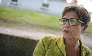 Viviane Lambert, la mère de Vincent Lambert, à Reims, le 6 juin 2015.