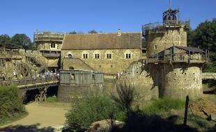 Le château de Guédelon (dans l'Yonne), en août 2016.