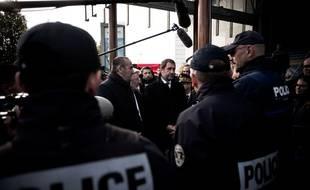 Le ministre de l'Intérieur, Christophe Castaner, fait face au malaise des policiers