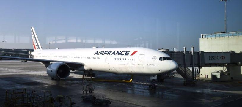 Un appareil Air France - Illustration