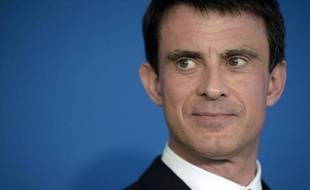 Le Premier ministre Manuel Valls à Paris, le 7 mai 2015