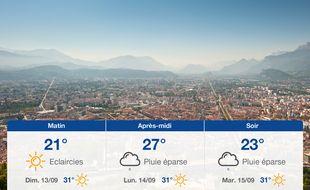 Météo Grenoble: Prévisions du samedi 12 septembre 2020