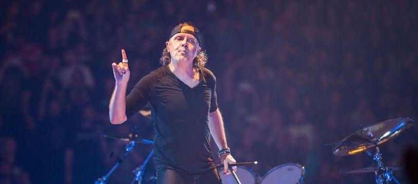 Le batteur de Metallica, Lars Ulrich