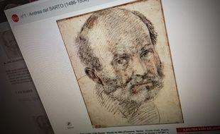 Ce dessin d'Andreas del Sarto a été vendu pour plus de trois millions d'euros.