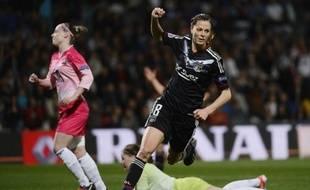 Grâce à un triplé inscrit face au FC Metz, Lotta Schelin a atteint la barre des 100 buts en D1.
