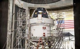 La capsule Orion, intégrée à la mission Artémis de la Nasa, le 5 mars 2020.
