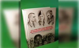 Couverture du « livre des 9.000 déportés de France à Mittelbau-Dora».