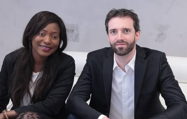 Maryse Degboé et Olivier Jubin, les créateurs de la société Syne qui développe la plateforme gardedenfantspourtous.fr, qui met en relation les familles et des assistantes maternelles, babysitters, crèches, etc. pour faciliter la garde des enfants.