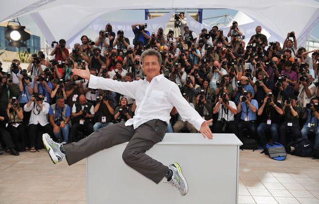 Dustin Hoffman à Cannes le 15 mai 2008.