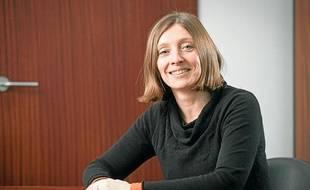 La vice-présidente de la Communauté urbaine de Bordeaux, et maire d'Eysines, Christine Bost