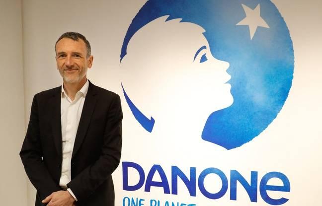 648x415 emmanuel faber devant le logo de danone a paris le 16 fevrier 2018
