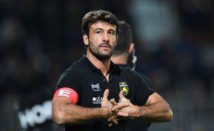 Xavier Garbajosa va passer de La Rochelle à Montpellier.