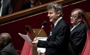 Le député du Nord Fabien Roussel à l'Assemblée nationale, le 3 avril 2018.