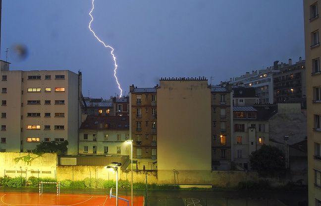 Marseille : Le trafic des trains reprend après un violent orage... Plusieurs rues inondées