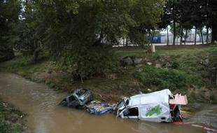 Inondations le 5 octobre 2015 près de Cannes