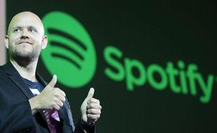Le cofondateur et directeur général de Spotify, Daniel Ek, en 2016.