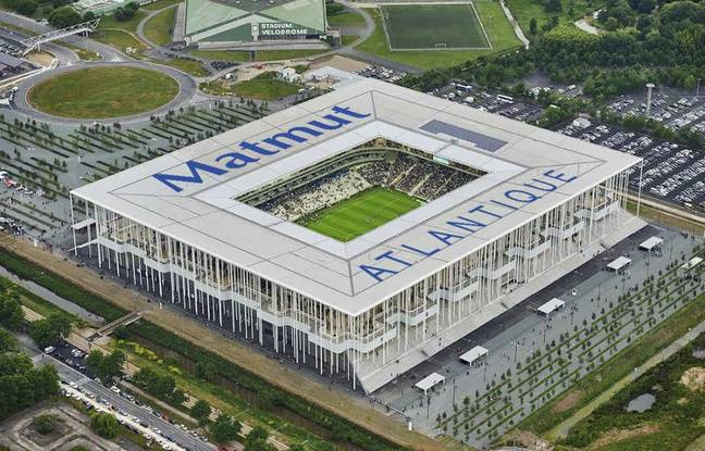 Illustration du stade Matmut Atlantique.