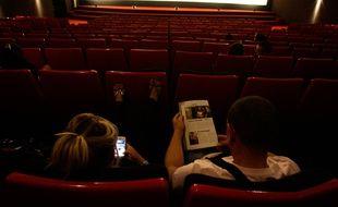 Dans une salle de cinéma, à Toulouse. (Illustration)